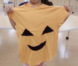 ハロウィンシャツを作ろう